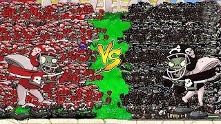99999 Football Zombie vs 99999 Gargantuar vs Zombies Plants vs Zombies