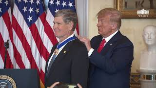 President Trump Presents the Presidential Medal of Freedom to Jim Ryun