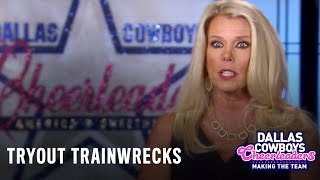 Dallas Cowboys Cheerleaders: Making the Team | Tryout Trainwrecks