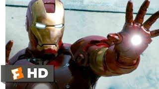 Iron Man (2008) - Iron Man to the Rescue Scene (8/9)   Movieclips
