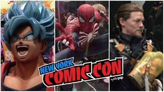 NYCC 2019 Show Floor Highlights! SPIDER-MAN, AVENGERS, PLAYSTATION, DRAGONBALL & MORE!