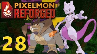 [28] Mewtwo, Terrakion, and Ultra Jungle!!! (Pixelmon Reforged Gameplay)