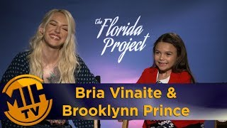 Bria Vinaite & Brooklynn Prince The Florida Project Interview