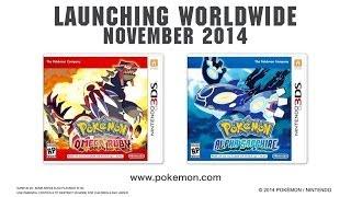 Pokémon Alpha Sapphire/Omega Ruby - Announcement Trailer