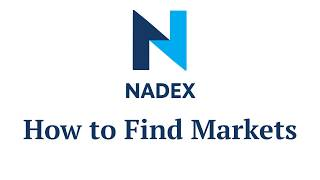 Watch Video: Find Markets to Trade