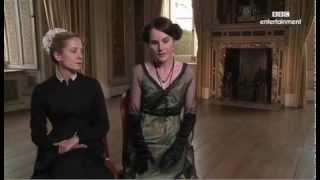 Joanne Froggatt and Michelle Dockery Downton Abbey Interview