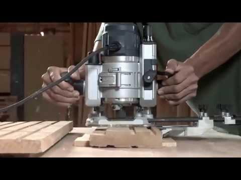 Tupia Elétrica Com Base Fixa 1600W GFF1600CE Bosch - 127 V - Vídeo explicativo