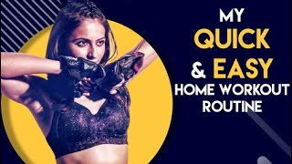 My quick and easy workout at home: Rakul Preet Singh..