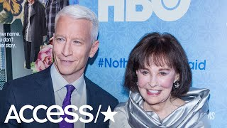 Anderson Cooper Holds Back Tears In Emotional Tribute To His Late Mother, Gloria Vanderbilt   Access