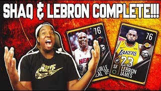 COMPLETING OFFSEASON MOVERS LEBRON AND SHAQ!!! ROAD TO THE TOP NBA LIVE MOBILE 19 EP. 3!!!