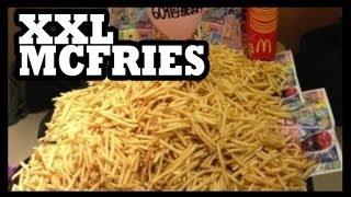 McDonald's Giant Size Fries?! - Food Feeder