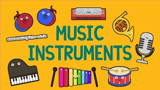 Music Instruments Song for Children (27 Instruments) - YouTube