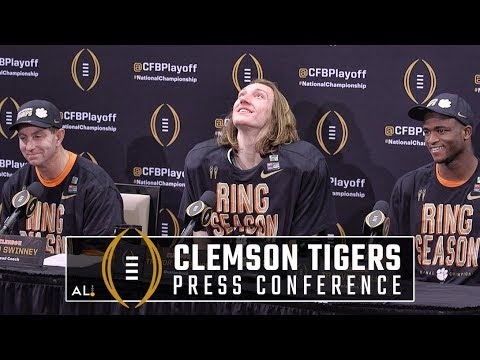 What Clemson said after beating Alabama in national championship