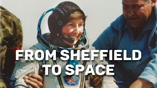 Astronaut and chemistry graduate returns to Sheffield
