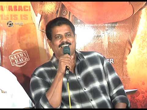 Saamy  Movie Press Meet