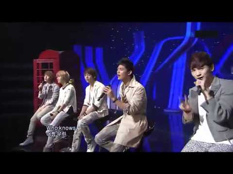 SHINee - Hello ft  F(x) Sulli Live