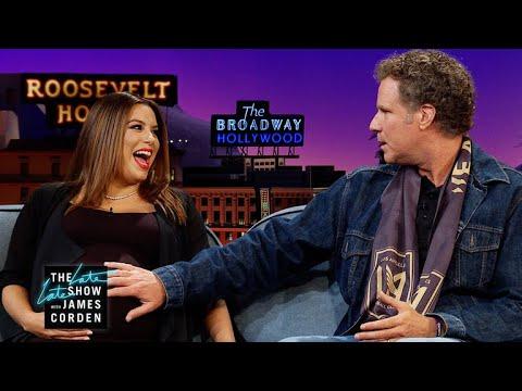 Eva Longoria Gets Parenting Tips from Will Ferrell
