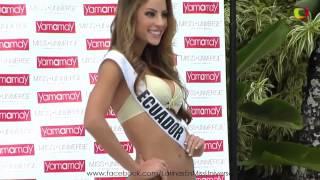 LATINAS en Miss Universo 2014/2015 - Desfile en traje de baño YAMAMAY