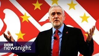 Jeremy Corbyn's Brexit speech: Barry Gardiner and Sarah Wollaston discuss - BBC Newsnight