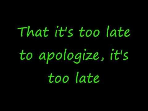 Baixar OneRepublic Apologize Lyrics