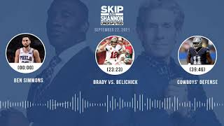 Ben Simmons, Brady vs. Belichick, Cowboys' defense | UNDISPUTED audio podcast (9.22.21)