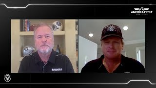 Coach Gruden Reacts to Raiders 2020 Schedule | Las Vegas Raiders
