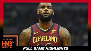 LeBron James (33 pts) Full Highlights vs Pacers / Week 2 / Cavaliers vs Pacers