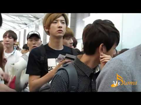 120727 EXO K at Incheon Airport go to Thailand -2