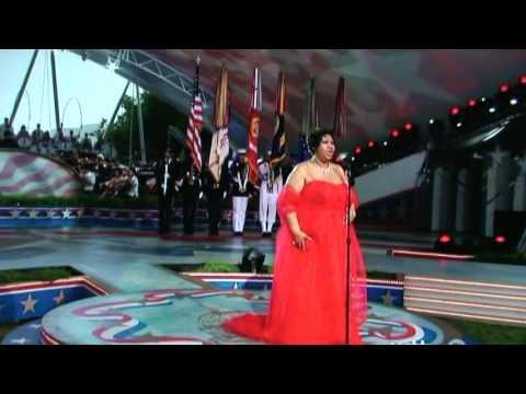 Aretha Franklin National Anthem