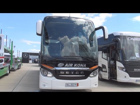 Setra TopClass S 517 HDH Bus (2016) Exterior and Interior in 3D