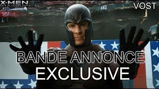 X-men: days of future past :  bande-annonce 2 VOST