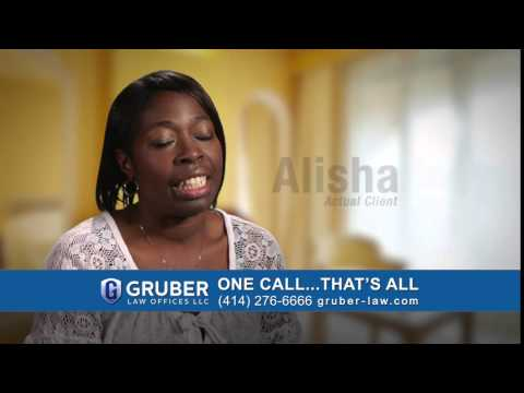 Gruber Law Offices Testimonial - Alisha (15 sec)