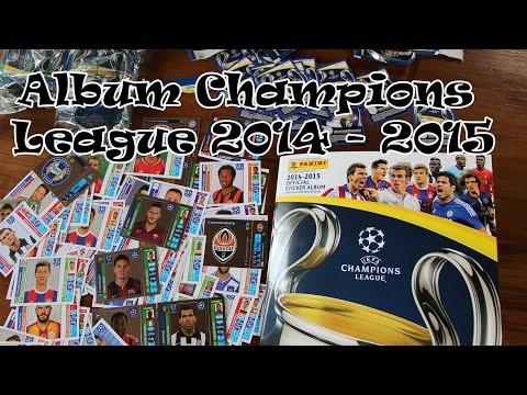 Baixar Album Champions League 2014 - 2015 Panini Liga dos Campeões de figurinhas
