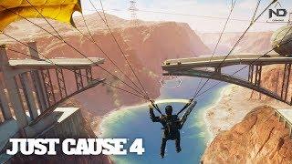 Just Cause 4 #39 - Thử mọi cách để phá cầu và thử thách dùng phà làm cầu | ND Gaming