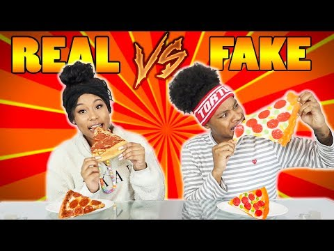 REAL VS FAKE CHALLENGE!