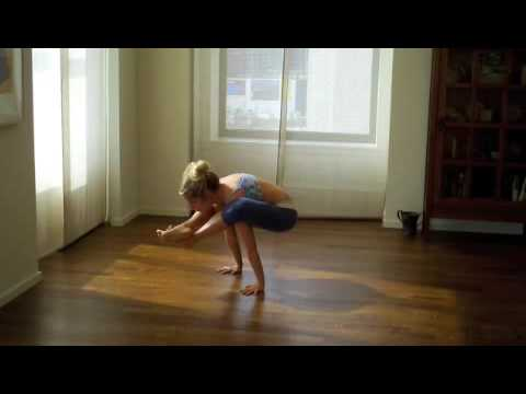 Repeat youtube video Ashtanga Arm Balance Sequence with Kathryn Budig