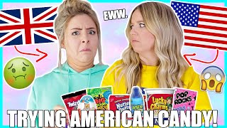 Trying American Candy ! Success Or Disaster ?!