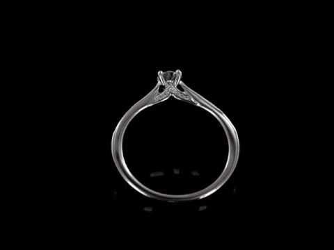 Browns Family Jewellers White Gold Solitaire Engagement Ring