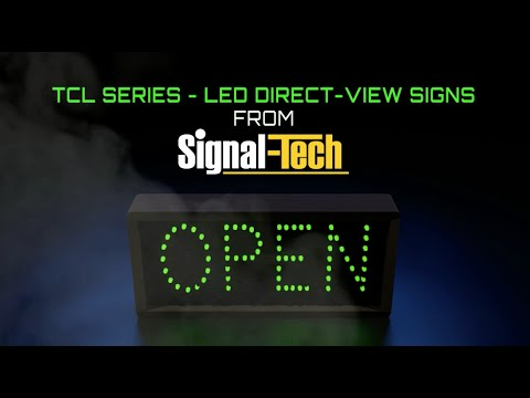 TCL Series LED Direct-View Signs From Signal-Tech