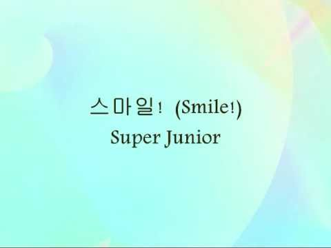 Super Junior - 스마일!(Smile!) [Han & Eng]