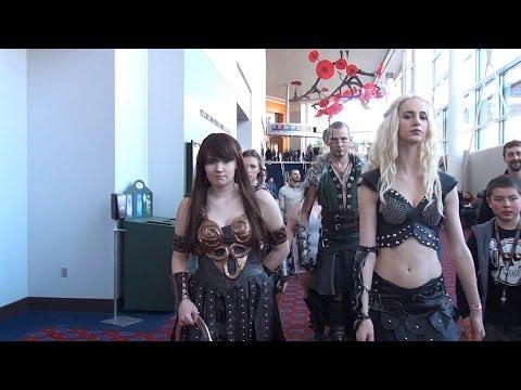Comic Con (1), Portland, Oregon in VR 3D SBS 4K Viewer (Updated)