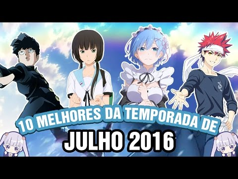 OS MELHORES ANIMES DE JULHO/VERÃO 2016