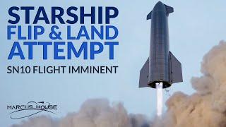 "SpaceX Starship Updates - SN10 Flight Imminent, Mars 2020 Footage & Cygnus ""SS Katherine Johnson"""