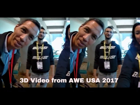 @BeFstTv How it was at Augmented World Expo 2017 - 3D Video