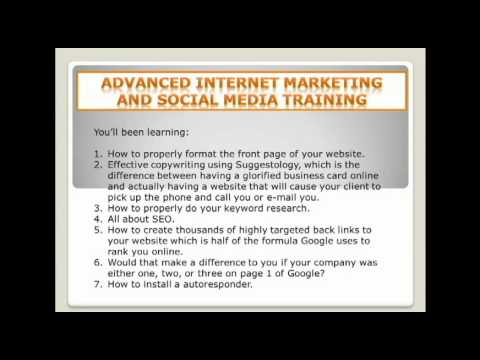 Calgary Oil And Gas Social Media And Internet Marketing Workshop