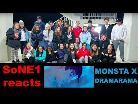 MONSTA X (몬스타엑스) - DRAMARAMA M/V Reaction by SoNE1
