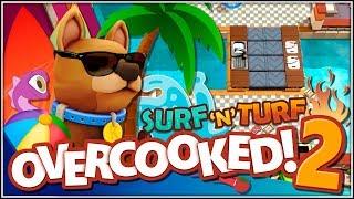 Huevos al vuelo!!! | 15 | Overcooked 2 - Surf 'N' Turf en Español con @Dsimphony