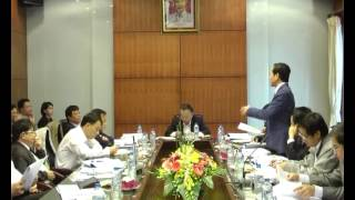 Đồng chí Nguyễn Văn Sửu  Phó Chủ tịch UBND Thành phố Hà Nội làm việc với UBND huyện về