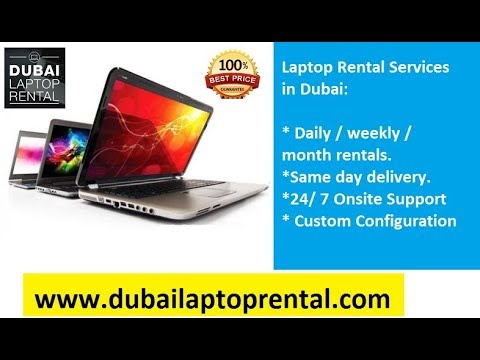 Why opt laptop rental service from Dubai Laptop Rental?