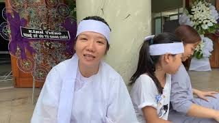 Vợ nghệ sỹ Giang Châu tiết lộ lý do bà xuất gia